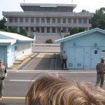 Checking out the North Korean border…