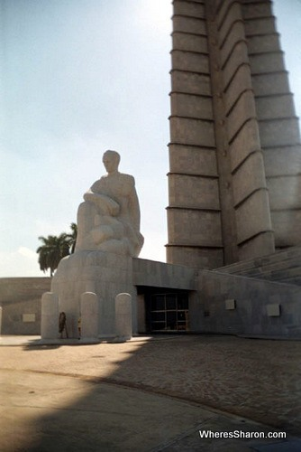 Memorial Jose Marti in havana