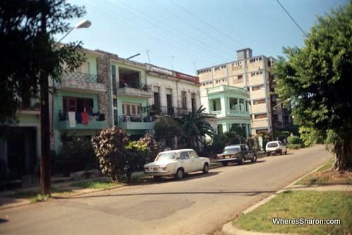 Vedado Street Scene in havana things to do