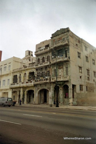 Buildings on the Malacon havana