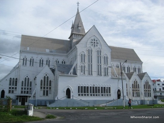 St George's Cathedral in georgetown guyana