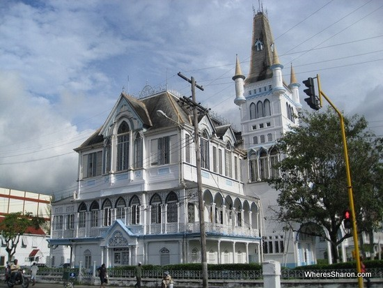 Town hall in georgetown guyana