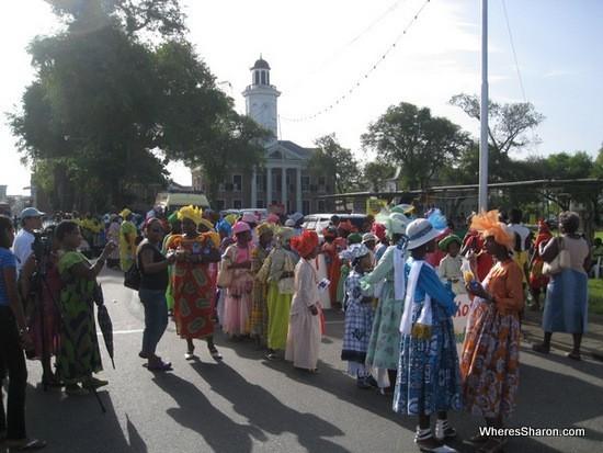 paramaribo parade