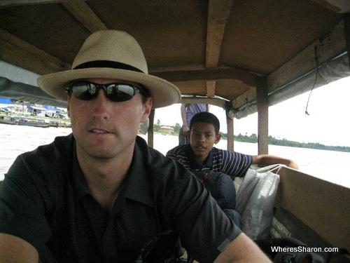 Canoe ride to French Guiana