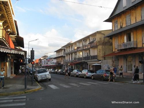 street in cayenne