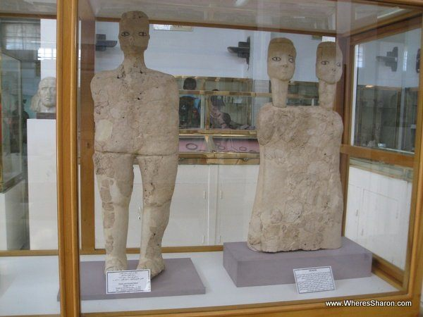 8500 year old statues in amman