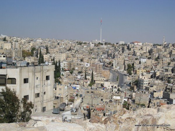Views from the citadel of Amman