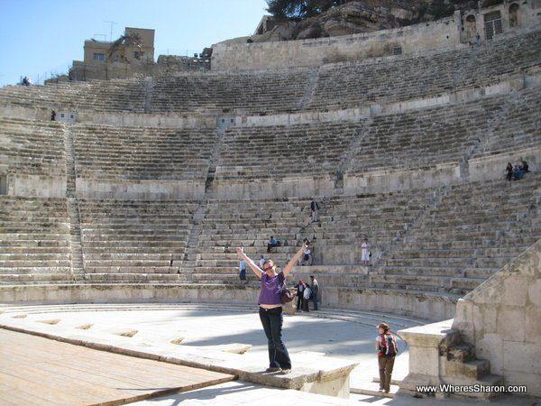 Roman forum in Amman