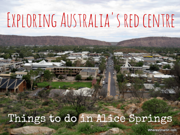 Exploring Australia's red centre things to do in alice springs