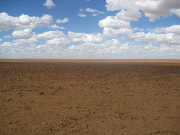 Moon plains in coober pedy