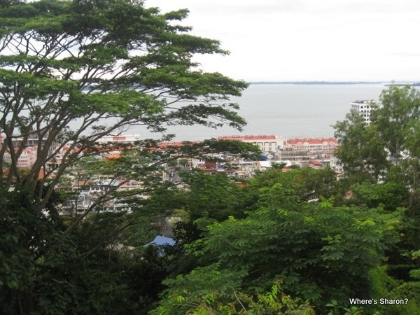 Views of Sandakan from the lookout