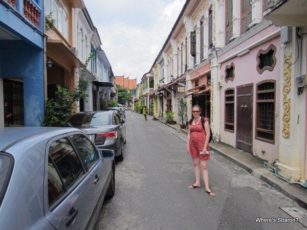 walking the streets of phuket town phuket