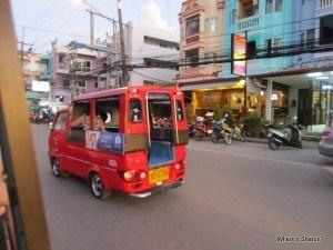 A tuk tuk in Patong