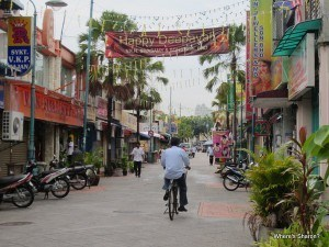 Streets in Little India Georgetown