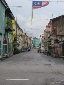 street in Chinatown Georgetown