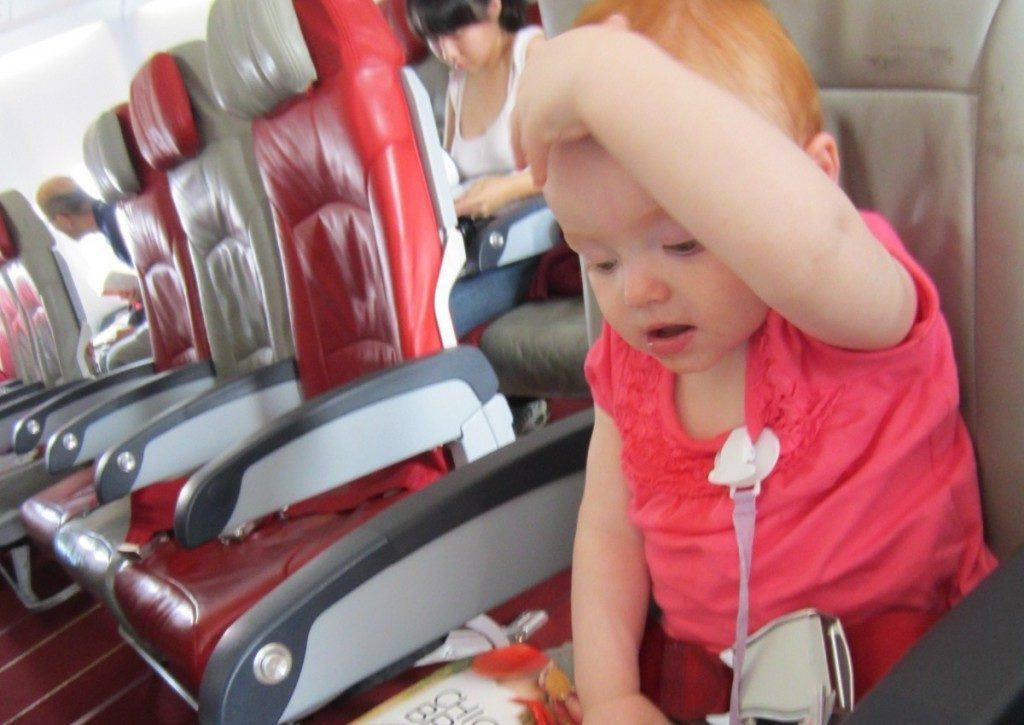 Toddler flying air asia to melbourne