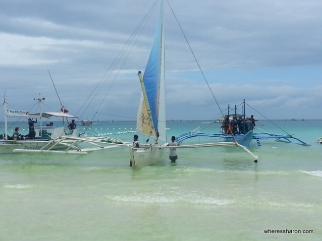 water activities in boracay