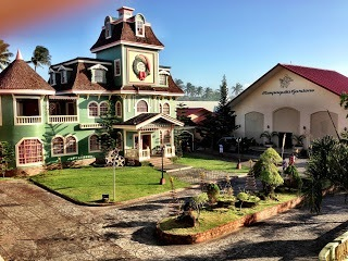 The Christmas cottage and convention center at Sampaguita Gardens Resort