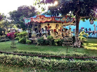 Mini amusement park at Sampaguita Gardens Resort