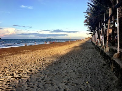 Baybay beach in the evening roxas city