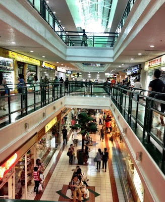 shopping center in Iloilo City Philippines