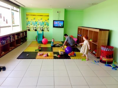 Toddler playroom at Iloilo airport Philippines