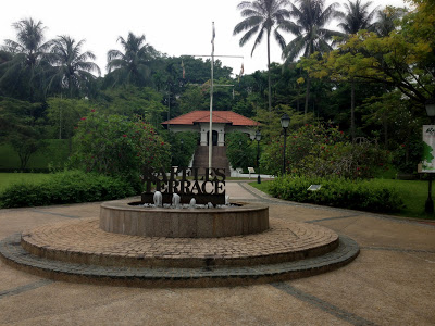 Fort Canning Park with kids