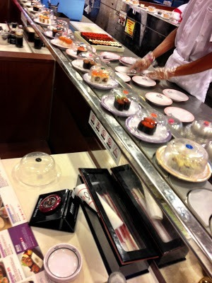 sushi train things to do in johor bahru with kids