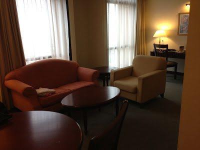 Living area at Berjaya Times Square Hotel Kuala Lumpur accommodation