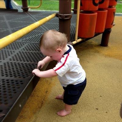 baby at KLCC playground