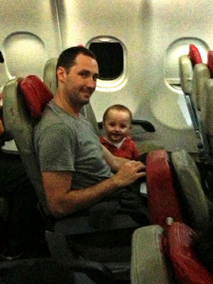 baby on air asia flight to melbourne