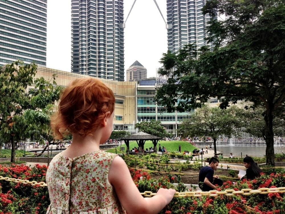 S checks out Suria and Petronas Towers