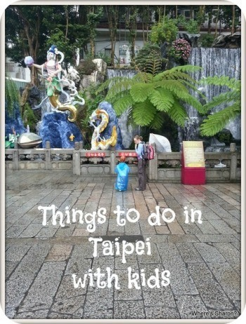 things to do in taipei with kids