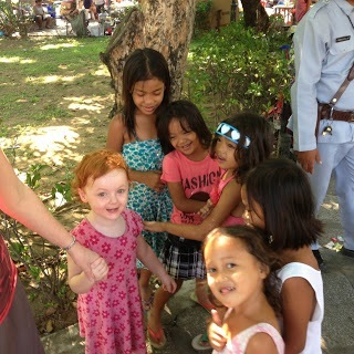 manila philippines crowds of children