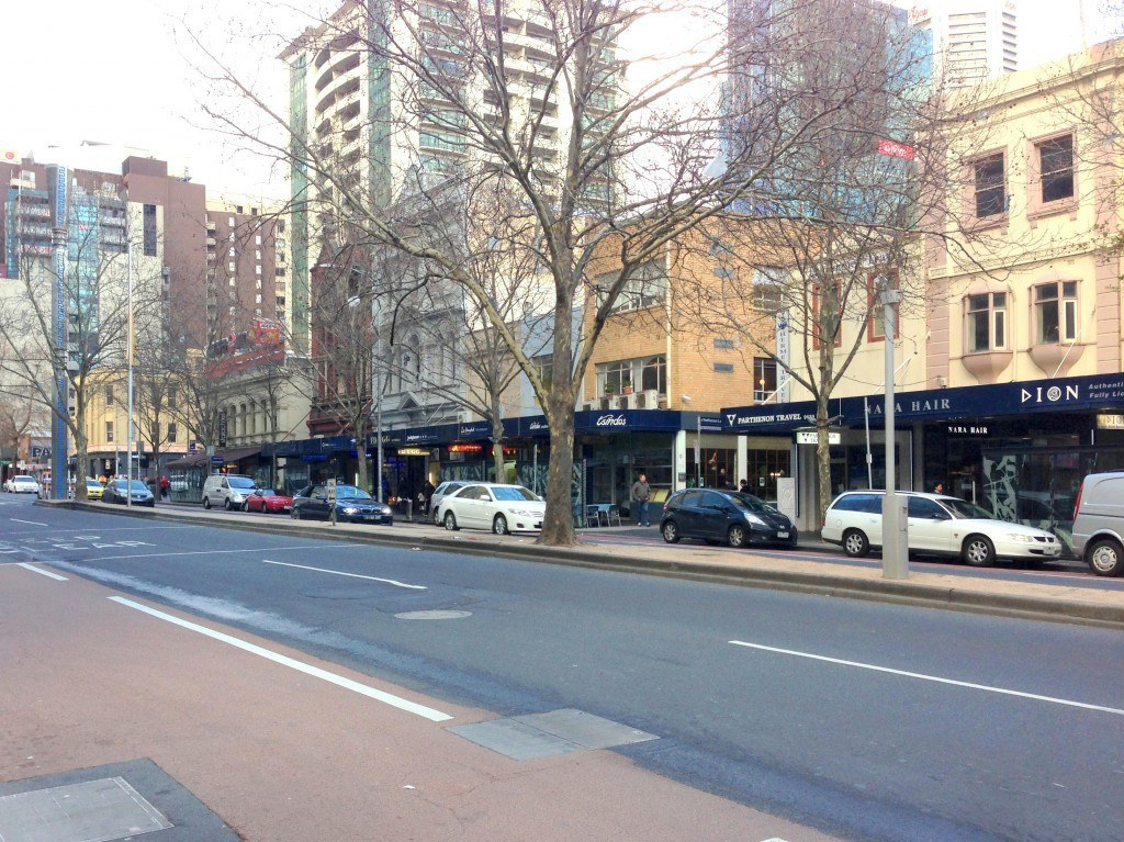 Lonsdale St Greek precinct