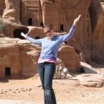 Me! Enjoying the glorious Petra, Jordan