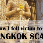 A happy victim of a Bangkok gem scam