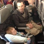 Flying with a toddler and an infant to the US