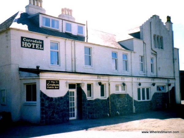 Carradale Hotel mull of kintyre