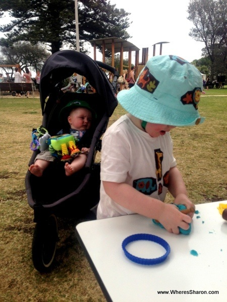 play dough in altona for childrens week