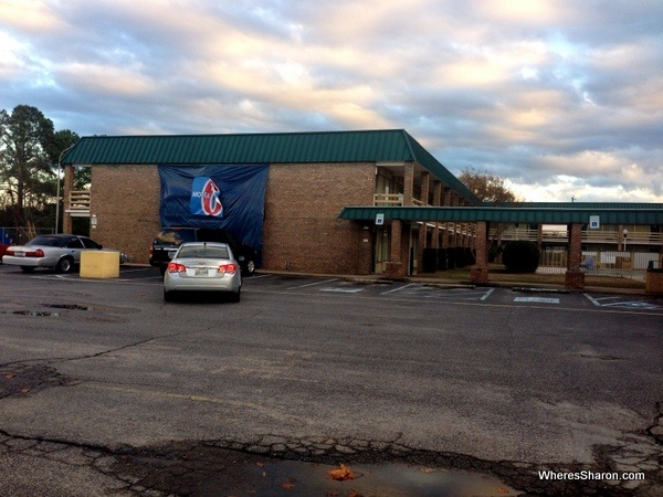 the outside of motel 6 columbia
