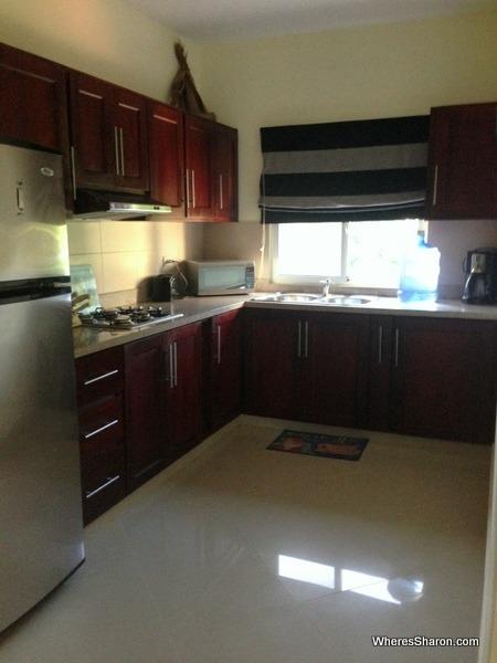 kitchen in vacation rental cabarete