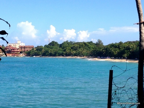Our first look at Sosua Beach
