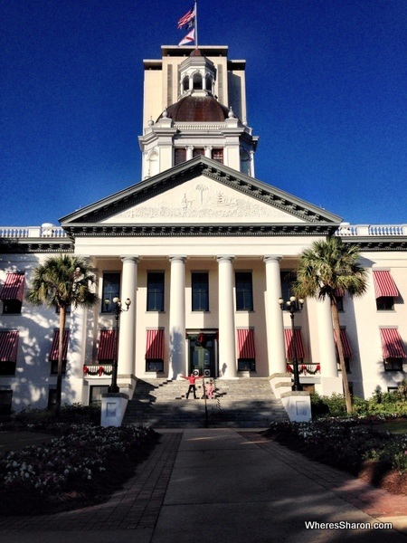 front view of Old State Capitol Building, Tallahassee