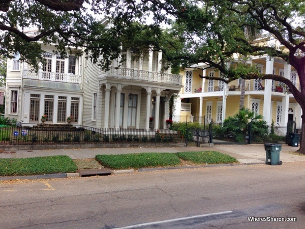 big grand houses in new orleans