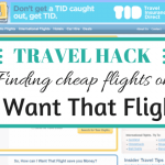 Travel hacking: Using I Want That Flight for cheap flights