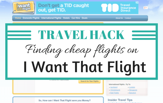 travel hack! finding cheap flights with i want that flight