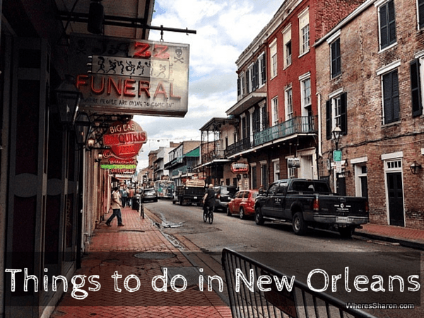 Things to do in new orleans in a few days family travel for Best things to do in french quarter