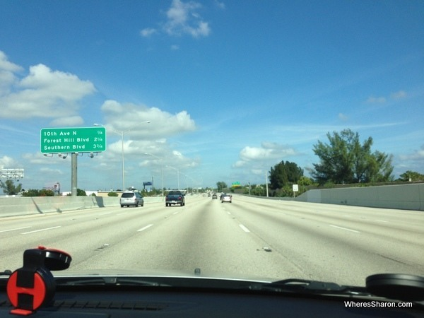 big interstate highway in Florida miami to new orleans drive