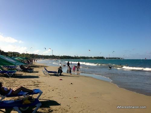 Cabarete beach?
